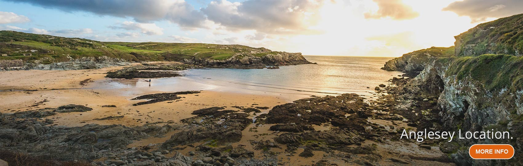 View of Porth Dafarch Beach